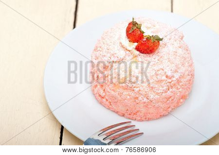 Fresh Strawberry And Whipped Cream Dessert