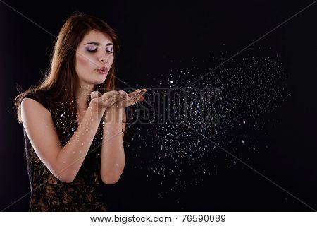 Teen Blowing Girl