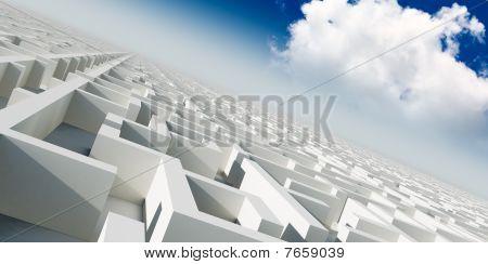 3D Infinity Maze