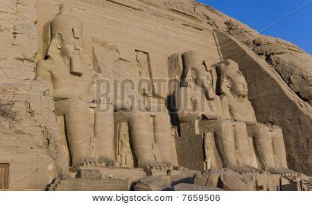 Temple Of Ramesses Ii, In Abu Simbel, Egypt