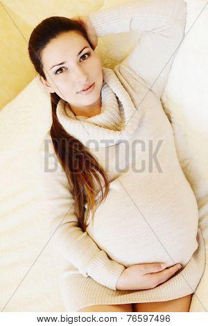 Pretty Pregnant Woman