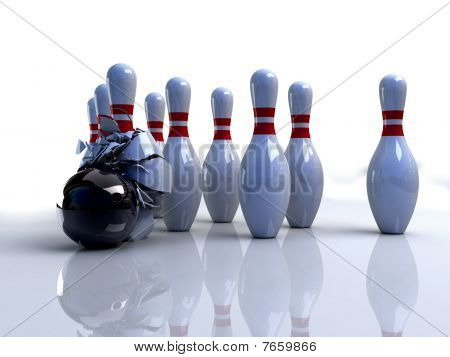 Bowling Pins Broken