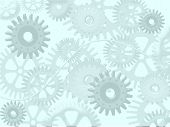cogwheels abstract