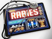 stock photo of rabies  - Rabies  - JPG