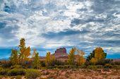 stock photo of goblin  - Wild Horse Butte Near Goblin Valley State Park Utah - JPG