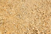 image of sand gravel  - Close up beautiful sand texture in construction site - JPG