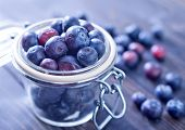 picture of berries  - fresh berries on the table - JPG