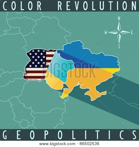 color revolution concept