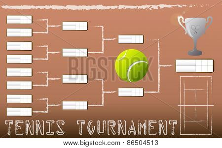 Tennis Tournament Bracket