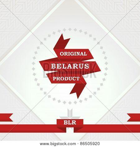 Original Belarus product
