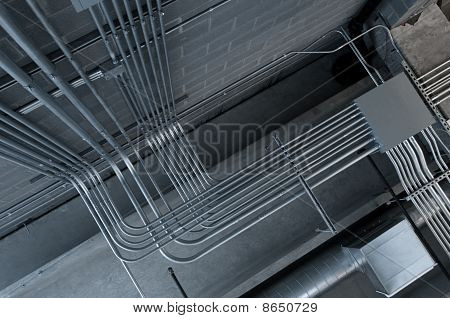 Labirinto de tubulação