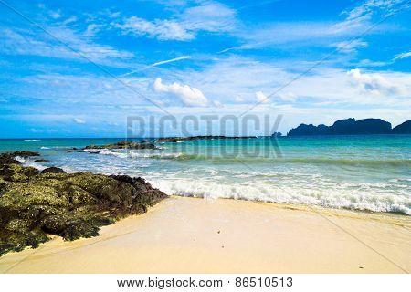 Rocky Bay Beautiful Sea
