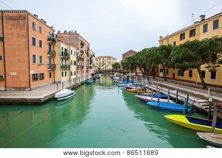Cannaregio District In Venice