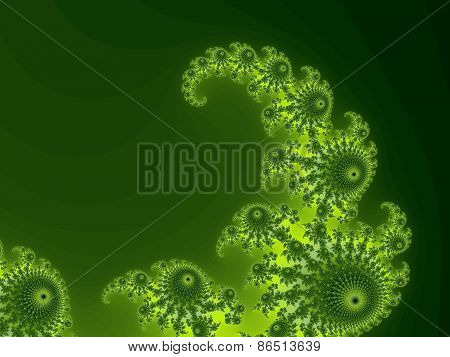 Decoirative fractal background