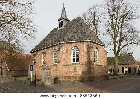 Netherlands - Bronckhorst - Circa March 2015: Reformed Church