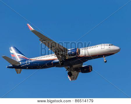 Airplane Airbus A320, K. Feoktistov