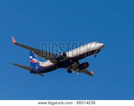 Boeing 737 Passenger Plane