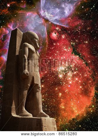 Ramses Ii, Magellanic Cloud And Butterfly Nebula (elements Of Th