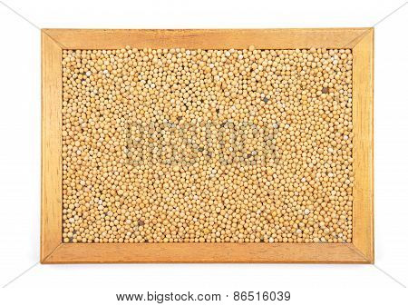 Mustard Seeds In Frame