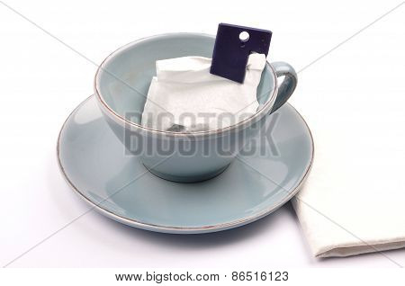 Cup With Loose Tea