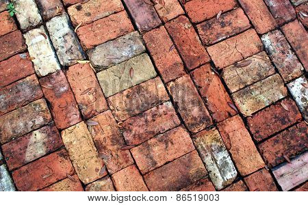 Vintage Brick Walkway