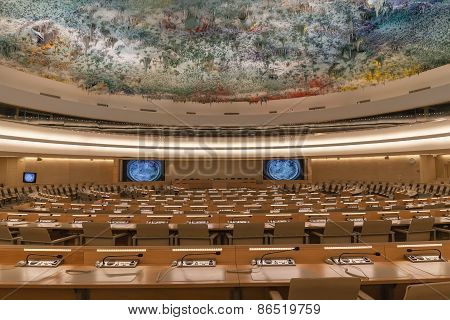 Human Rights And Alliance Of Civilizations Room In Un Geneva
