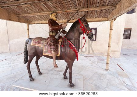 Arabian Horseman Warrior