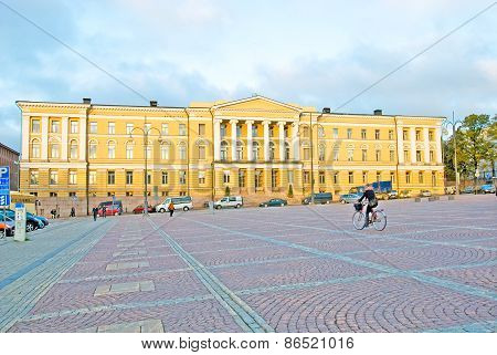 The University of Helsinki. Finland
