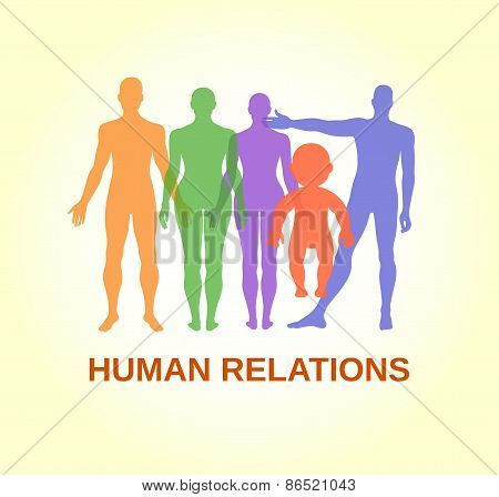 Full Length Front Human Relations