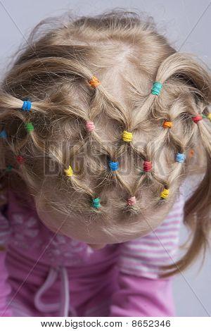 Einzigartige Haardesign Schwänze