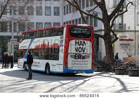 Hannover sightseeing tour bus