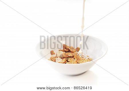 Milk And Corn-flakes