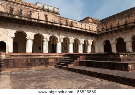 Raj Mahal Palace In Orchha