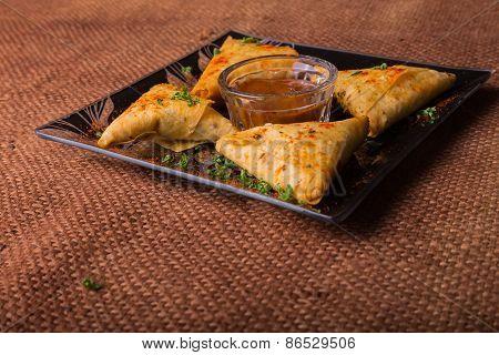 Eastern food. Snack.
