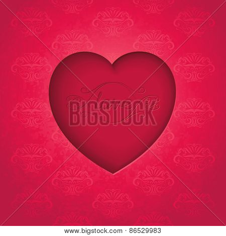 Artwork heart symbol