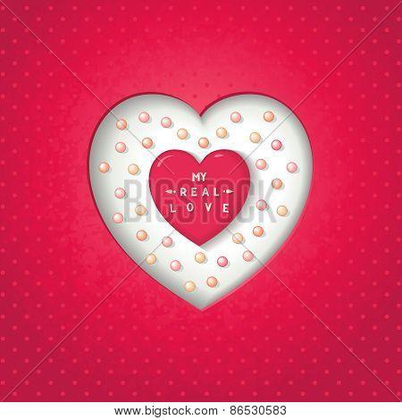 Artwork heart symbol