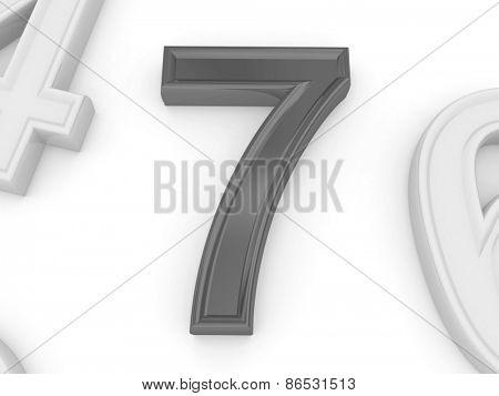seven. 3d
