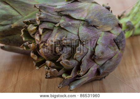 Raw Artichokes