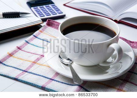 Business Still Life Breakfast
