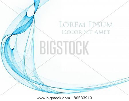 Abstract fantasy design, great as a background. Creative element for your project. The sample text can be very easily removed.