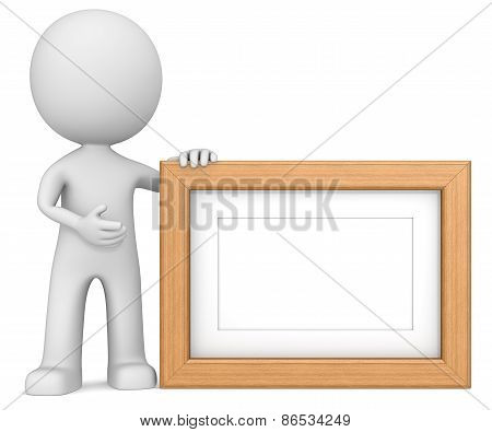 Wooden Picture Frame.