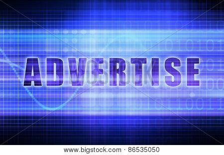 Advertise or Advertising