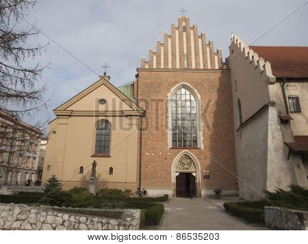Church And Convent Of The Franciscan Order In Krakow