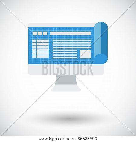 Monitor whit blueprint