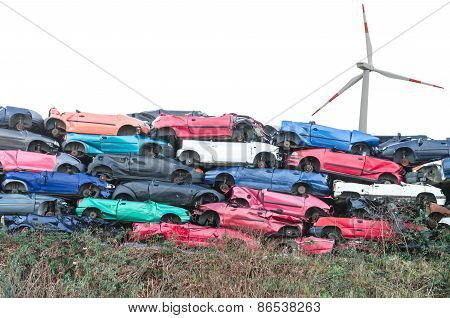 Scrap Vehicles, Wind Turbine