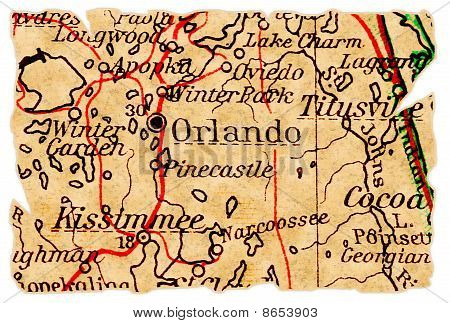 Orlando Old Map