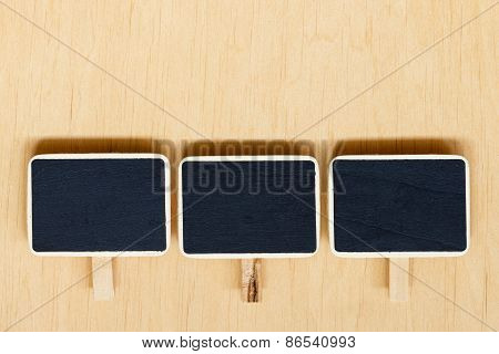 Small Blackboards Boards With Space For Text