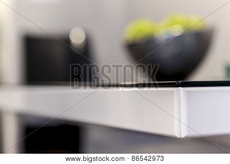 Detail Of Modern Table