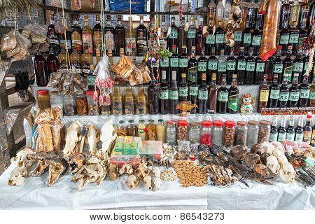 Medicinal Market In Iquitos, Peru