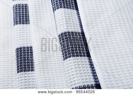 Kitchen towels background